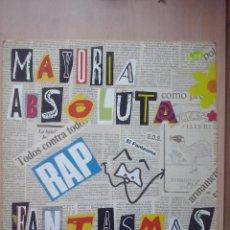 Discos de vinilo: MAYORIA ABSOLUTA- FANTASMAS- MAXI BUS 1991. Lote 53824747