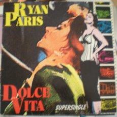 Discos de vinilo: RYAN PARIS - DOLCE VITA. Lote 53825682