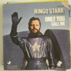 Discos de vinilo: RINGO STARR - ONLY YOU CALL ME. Lote 53827386