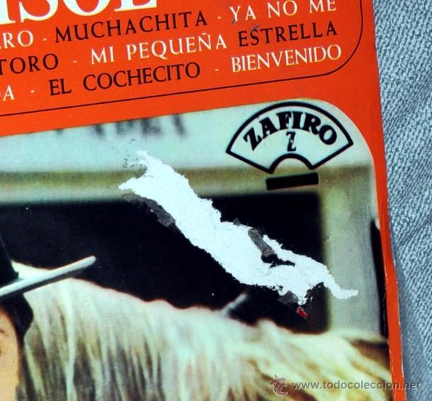 Discos de vinilo: DETALLE DEFECTO PORTADA. - Foto 3 - 53828982