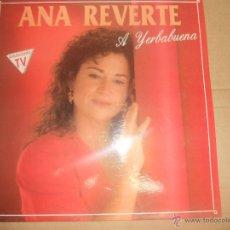 Discos de vinilo: ANA REVERTE (LP) EN MIL PEDAZOS AÑO 1989. Lote 53836419
