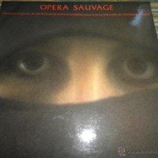 Discos de vinilo: VANGELIS - OPERA SAUVAGE LP - ORIGINAL ESPAÑOL - POLYDOR RECORDS 1980 - GATEFOLD COVER -. Lote 53836498