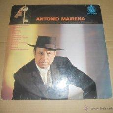 Discos de vinilo: ANTONIO MAIRENA (LP) LA LLAVE DE ORO DEL CANTE FLAMENCO AÑO 1964. Lote 53836708