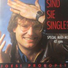 Discos de vinilo: JOESI PROKOPETZ - SIND SIE SINGLE? . MAXI SINGLE . 1986 AUSTRIA . Lote 53839811