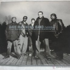 Discos de vinilo: DAVE MATTTHEWS BAND - EVERYDAY (2001) - CD - 12 TRACKS. ( SANTANA..GUITAR ), EXC. Lote 53842597
