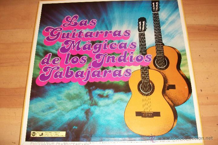 LAS GUITARRAS MAGICAS DE LOS INDIOS TABAJARAS-8 LP-CON SU CAJA ORIGINAL (Música - Discos - LP Vinilo - Grupos y Solistas de latinoamérica)