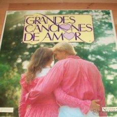 Discos de vinilo: GRANDES CANCIONES DE AMOR-8 LP-. Lote 53843169