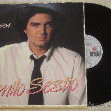 Discos de vinilo: LP - CAMILO SESTO - AMANACER - LP ARIOLA - 1983. Lote 53843572