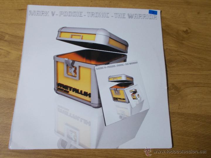 MARK V-POOGIE-TRONIC-THE WARRIOR MAXI 12 (Música - Discos de Vinilo - Maxi Singles - Techno, Trance y House)