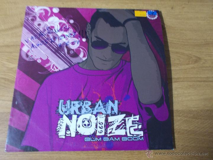 NOIZE. BUM BAM BOOM.URBAN MAXI 12 (Música - Discos de Vinilo - Maxi Singles - Techno, Trance y House)