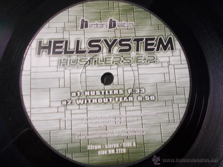 Discos de vinilo: HELLSYSTEM. HUSTLERS E.P. MAXI 12 - Foto 2 - 53843908