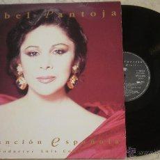 Discos de vinilo: LP ISABEL PANTOJA - CANCION ESPAÑOLA - RCA - 1990. Lote 53844412