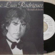 Discos de vinilo: SINGLE JOSE LUIS EL PUMA - UN TOQUE DE LOCURA - SG EPIC - 1982. Lote 53844673