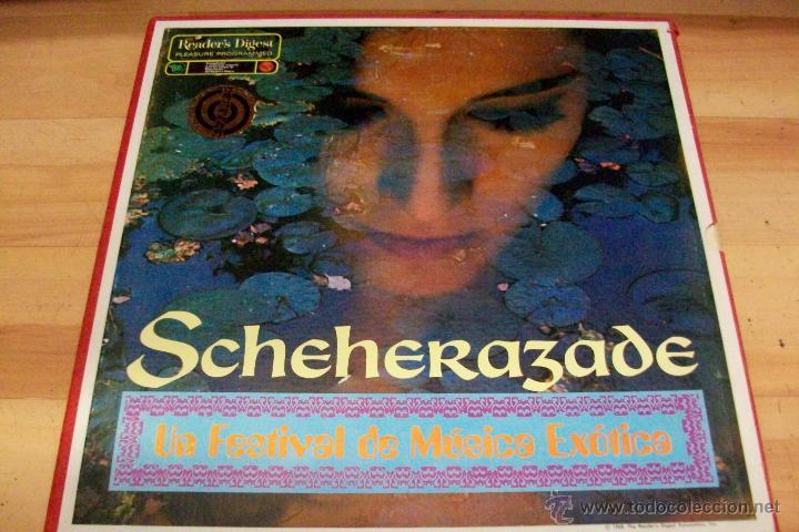 SCHEHERAZADE-UN FESTIVAL DE MUSICA EXOTICA-10 LP- AÑO 1968 (Música - Discos - LP Vinilo - Cantautores Extranjeros)