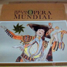 Discos de vinilo: PERLAS DE LA OPERA MUNDIAL- 10 LP-CON LIBRO. Lote 53845315