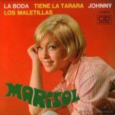 Discos de vinilo: MARISOL - RARO EP VINIILO 7' - EDITADO EN FRANCIA - LA BODA + 3 - CID 13026 - 1967 - CANTA EN INGLÉS. Lote 53845382