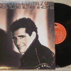 Discos de vinilo: LP MIGUEL RIOS -DIRECTO AL CORAZON POLYDOR - 1991. Lote 53845648
