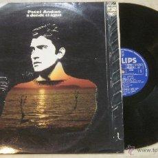 Discos de vinilo: LP PATXI ANDION - A DONDE EL AGUA - PHILIPS - 1973. Lote 53845745