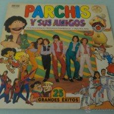 Discos de vinilo: PARCHÍS Y SUS AMIGOS.- DOBLE LP 1 VINILO AZUL Y OTRO NEGRO.. Lote 53846585