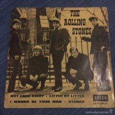 Discos de vinilo: ROLLING STONES-NOT FADE AWAY EP DECCA 1963. Lote 53848289