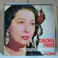 Discos de vinilo: CONCHITA PIQUER - CANCIONES DEL ESPECTACULO: PUENTE DE COPLAS - COLUMBIA C7066 - 1970. Lote 53849584