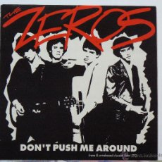 Disques de vinyle: THE ZEROS - DON'T PUSH ME AROUND (LP. BOMP!, 1991). Lote 53853012