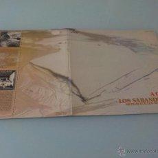 Discos de vinilo: CANTAN LOS SABANDEÑOS.-A CUBA.- NICOLÁS GUILLÉN- NUEVA TROVA LP-1976 CARPETA ABIERTA. Lote 53855696
