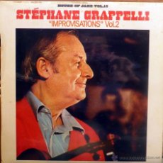 Discos de vinilo: STÉPHANE GRAPPELLI. IMPROVISATIONS 2. MOVIEPLAY, ESP. 1981 LP. Lote 53856705