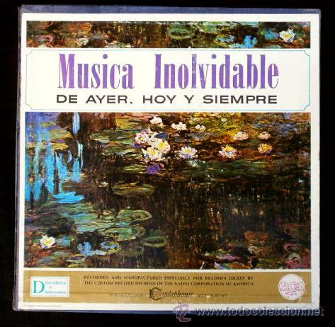 MUSICA INOLVIDABLE DE AYER, HOY Y SIEMPRE (CAJA 12 LPS) SELECCIONES READERS DIGEST - CLASICO / JAZZ (Música - Discos - LP Vinilo - Orquestas)