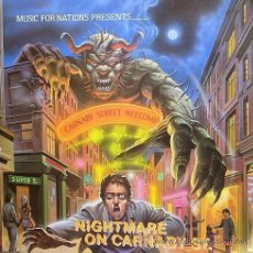 Discos de vinilo: NIGHTMARE ON CARNABY ST. 2 LP MUSIC FOR NATIONS. EXODUS.AGENT STEEL.WILD DOGS.STRYPER.TIGERTAILZ..... Lote 53872108