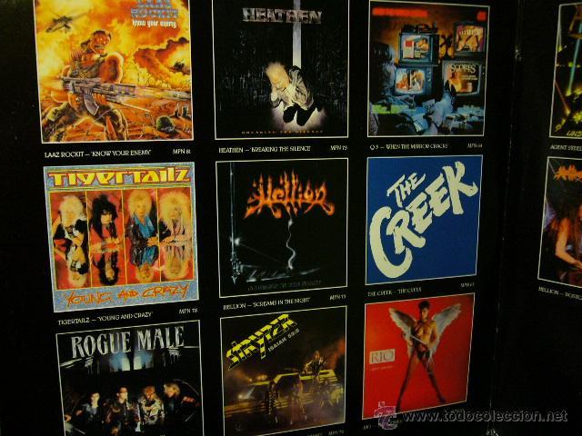Discos de vinilo: NIGHTMARE ON CARNABY ST. 2 LP MUSIC FOR NATIONS. EXODUS.AGENT STEEL.WILD DOGS.STRYPER.TIGERTAILZ.... - Foto 3 - 53872108