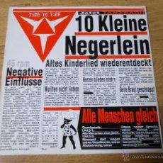 Discos de vinilo: TIME TO TIME. 10 KLEINE NEGERLEIN.. Lote 53872196