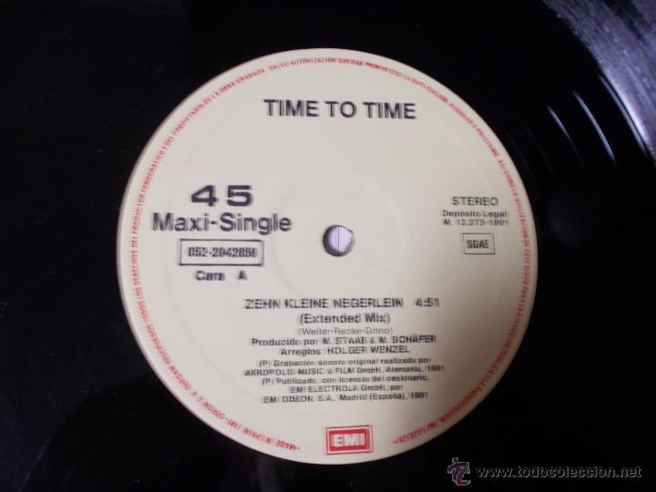 Discos de vinilo: TIME TO TIME. 10 KLEINE NEGERLEIN. - Foto 3 - 53872196