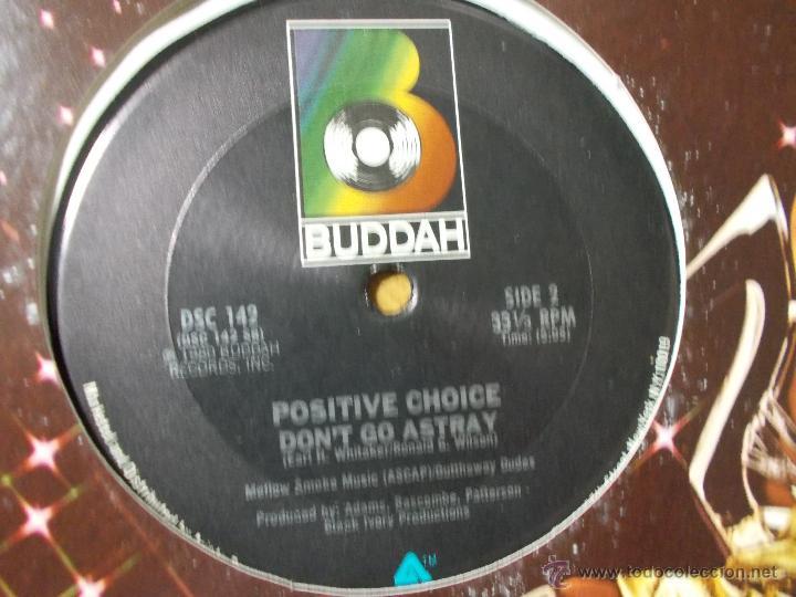 Discos de vinilo: POSITIVE CHOICE. SUPER SONIC STEREOPHONIC FUNK - Foto 2 - 53872265