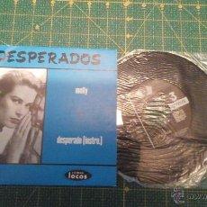 Discos de vinilo: SINGLE DEL GRUPO DESPERADOS TITULADO MOLLY. Lote 53877064