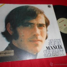 Discos de vinilo: JOAN MANUEL SERRAT LP 1969 NOVOLA PORTADA ABIERTA . Lote 53877130