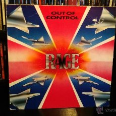Discos de vinilo: RAGE - OUT OF CONTROL. Lote 53880248