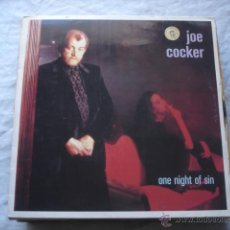 Discos de vinilo: JOE COCKER ONE NIGHT OF SIN. Lote 53880682