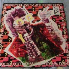 Discos de vinilo: LP VINILO BOOTSY COLLINS - WHAT'S BOOTSY DOIN'? / 1988 ORIG. CBS UK PRESS / MUY MUY RARO!!!!!!!!!!!!. Lote 53894236