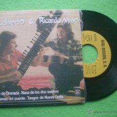 Discos de vinilo: GUALBERTO & RICARDO MIÑO RAGA DE GRANADA+3 EP SPAIN 1983 PROMO PDELUXE. Lote 53896280