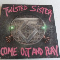Discos de vinilo: TWISTED SISTER - COME OUT AND PLAY 1985 TROQUELADO. Lote 53896281