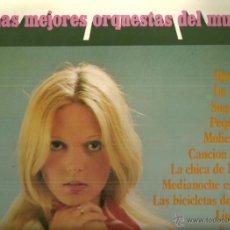 Discos de vinilo: LAS MEJORES ORQUESTAS DEL MUNDO LP DOBLE (2 DISCOS) SELLO POLYDOR AÑO 1972. Lote 53896389