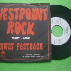 Discos de vinilo: WESTPOINT ROCK MARY - JANE SG SPAIN 1971 NORMAL.SELLO DIABOLO CON LABEL BLANCO. PDELUXE. Lote 53897341