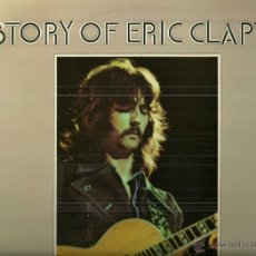 Discos de vinilo: HISTORY OF ERIC CLAPTON LP PORTADA DOBLE (2 DISCOS) SELLO POLYDOR AÑO 1972 EDITADO EN ESPAÑA. Lote 53905840