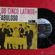 Discos de vinilo: LOS CINCO LATINOS - FABULOSO // EP 4 CANCIONES // 1960 // MADE IN HOLLAND. Lote 53907763