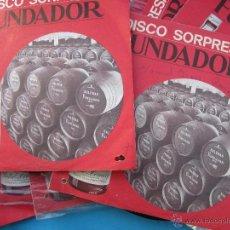 Discos de vinilo: 14 DISCOS SORPRESA FUNDADOR , ESTAN BIEN. Lote 53911862