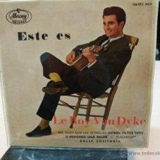 Discos de vinilo: LE ROY VAN DYKE EP DON'T LEY THE STARS GET UN YOURS EYES. Lote 53917254