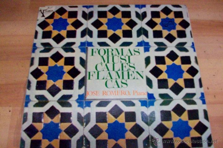 FORMAS MUSICALES FLAMENCAS-JOSE ROMERO, PIANO (Música - Discos - LP Vinilo - Flamenco, Canción española y Cuplé)