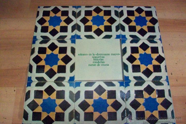 Discos de vinilo: FORMAS MUSICALES FLAMENCAS-JOSE ROMERO, PIANO - Foto 2 - 53932696