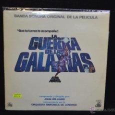 Discos de vinilo: BSO - LA GUERRA DE LAS GALAXIAS - 2 LP (INCLUYE POSTER). Lote 53939076